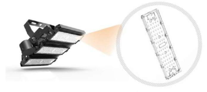 optique projecteur Olympe Stopled