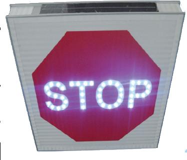 Panneaux lumineux Routier Stop Led