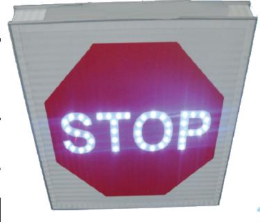 Panneaux Lumineux routier à Led Stop Led