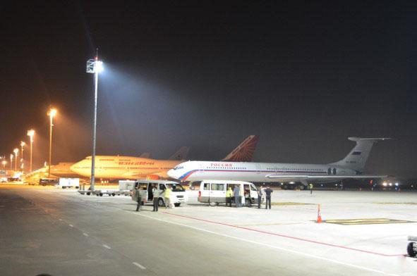 Eclairage Aeroport