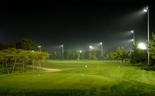 eclairage golf