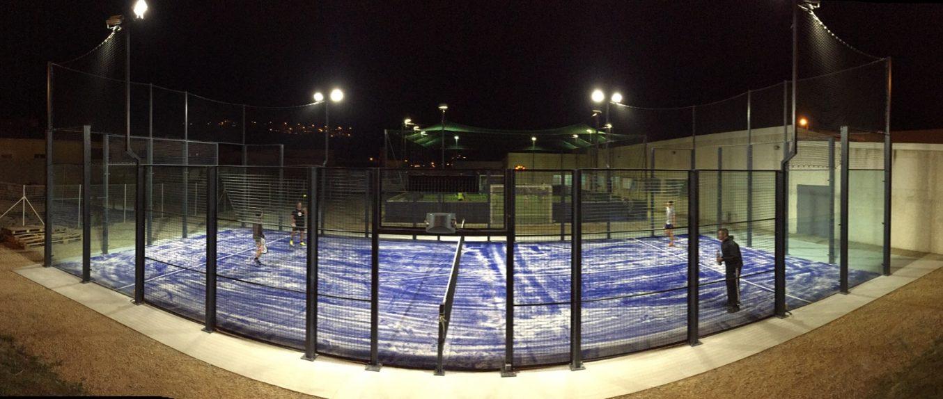 Eclairage Padel Tennis