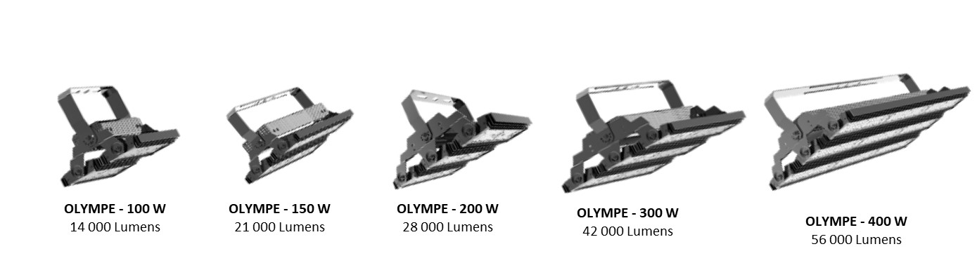 gamme olympe projecteur led