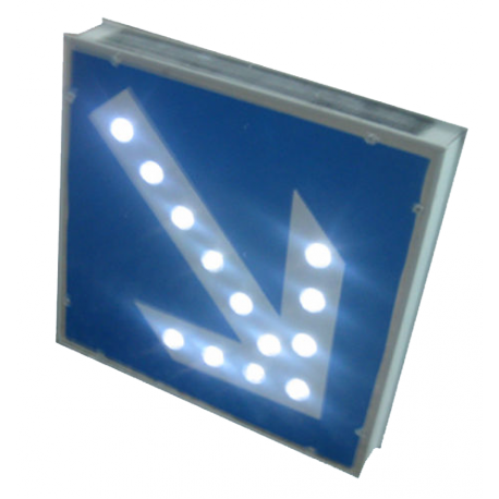 panneaux lumineux fleche stop led. Black Bedroom Furniture Sets. Home Design Ideas