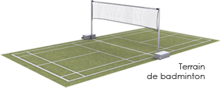 dimension terrain badminton