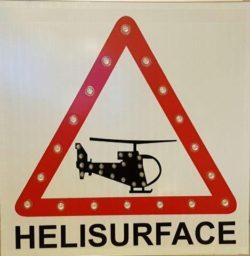 panneau Heliport