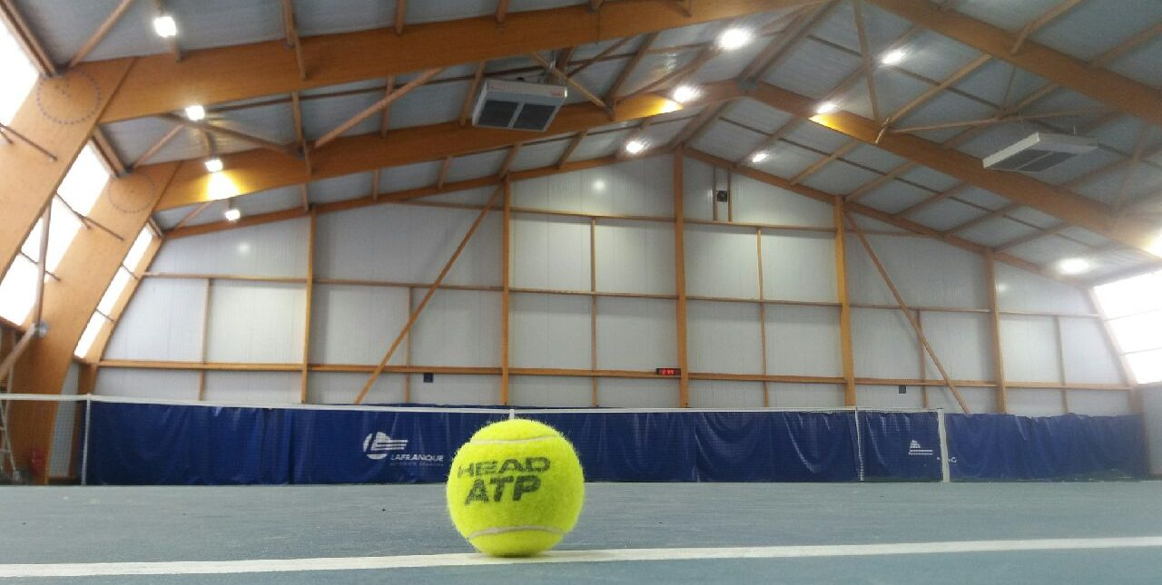 Tennis Vert le Grand éclairage led Stop Led
