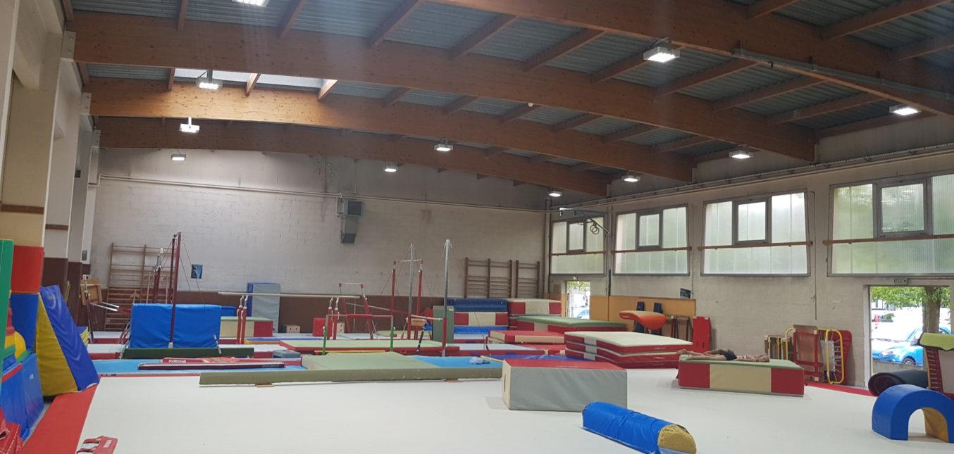 Gymnase Longjumeau Stop Led