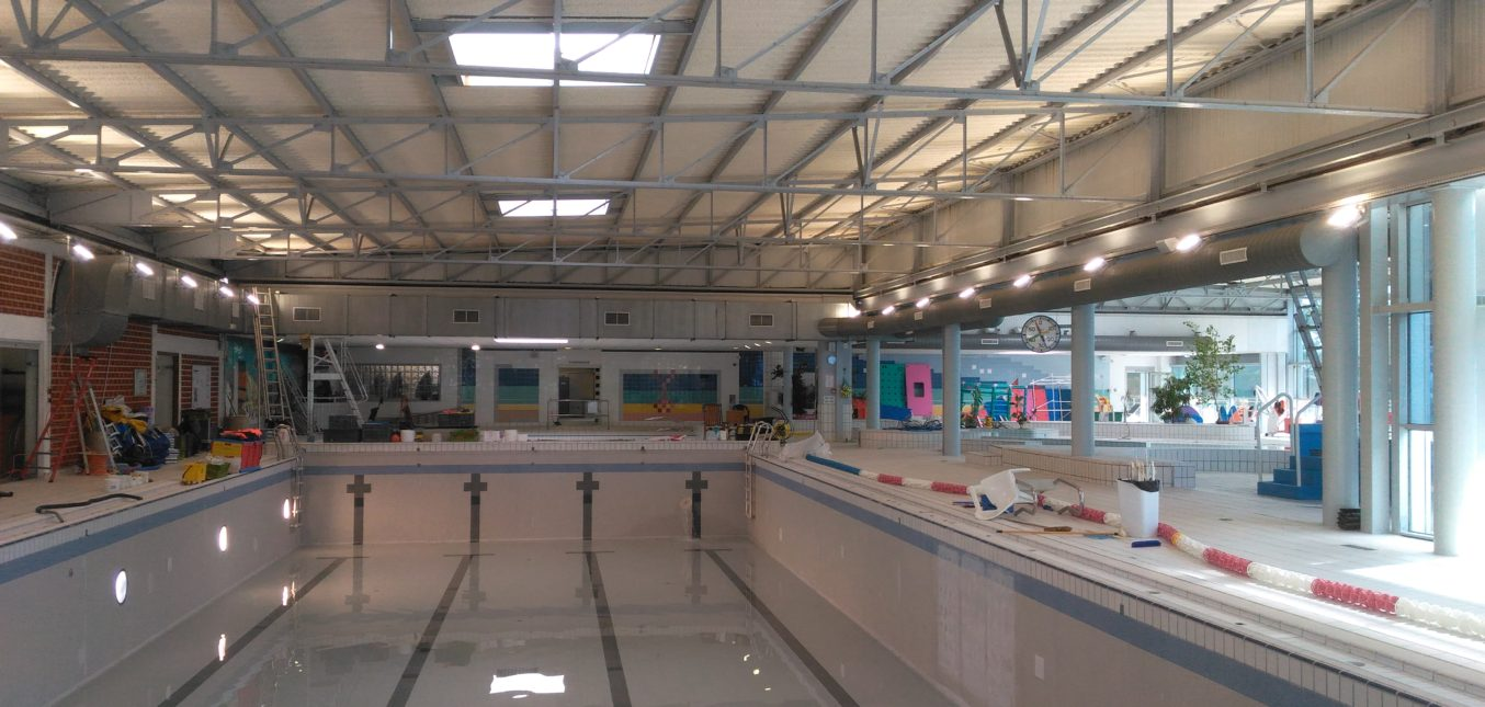 Eclairage piscine Avoine