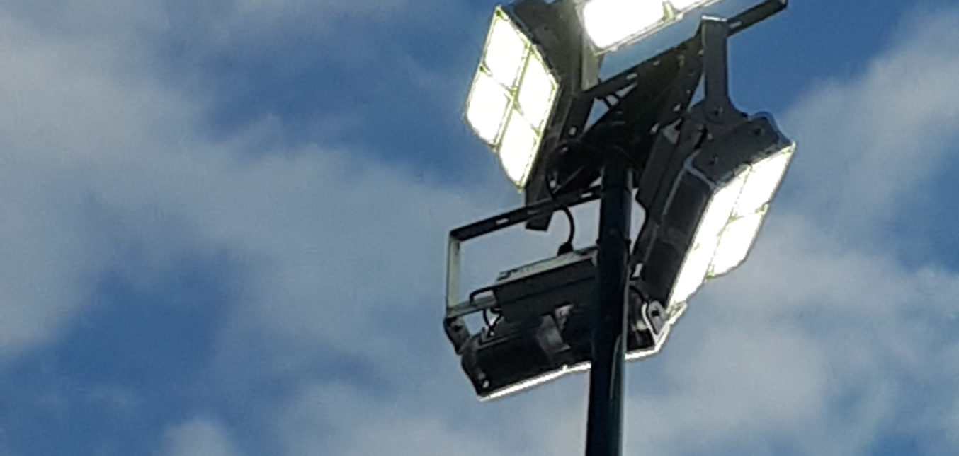 Eclairage Tennis exterieur led StopLed