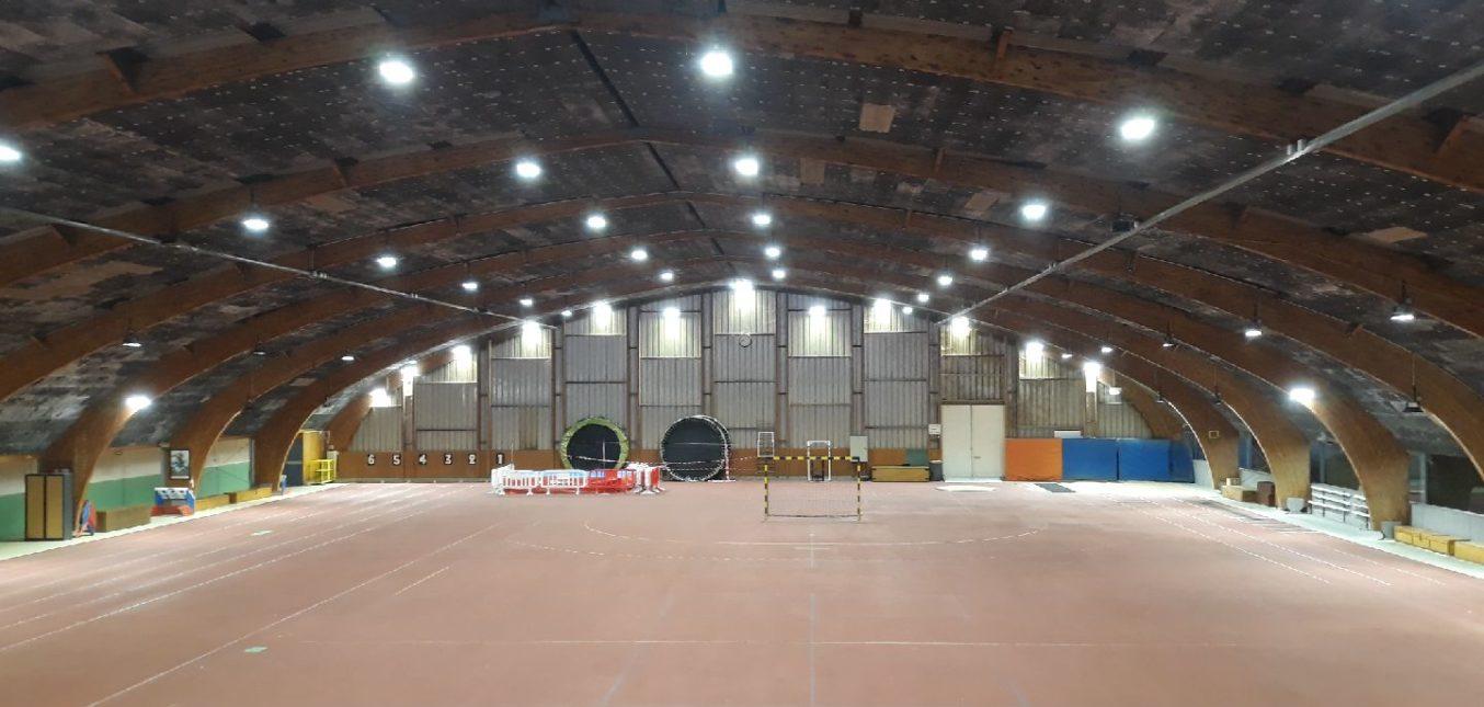 Eclairage Halle de Sport Stop Led athlétisme et hockey