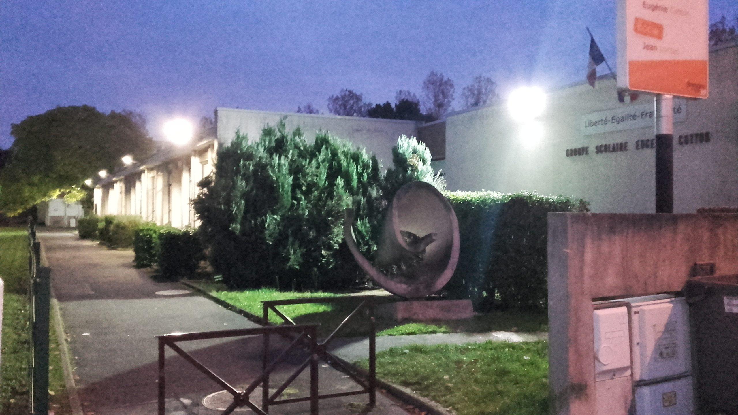 Eclairage Public - école Bretigny sur Orge