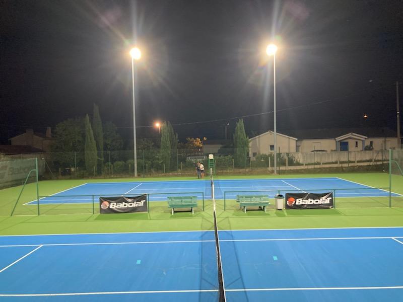 Tennis exterieur St Germain du Puch